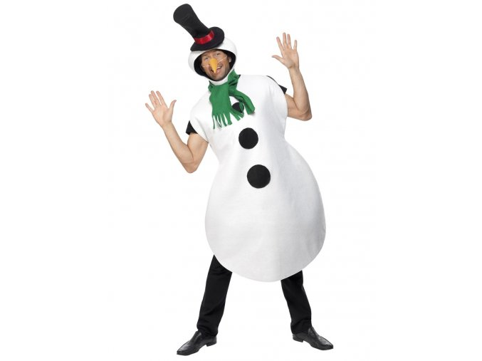 Kostým maskot Sněhulák
