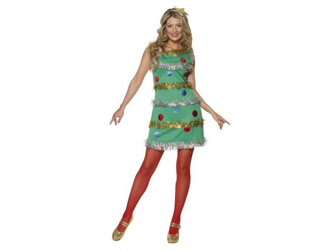 Dámský kostým Vánoční stromeček