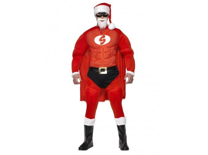 Kostým Santa Superman
