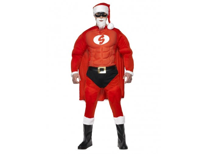 Kostým Santa Superman