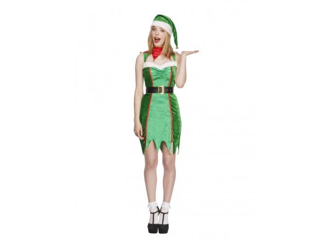 Kostým šaty pro Elfa