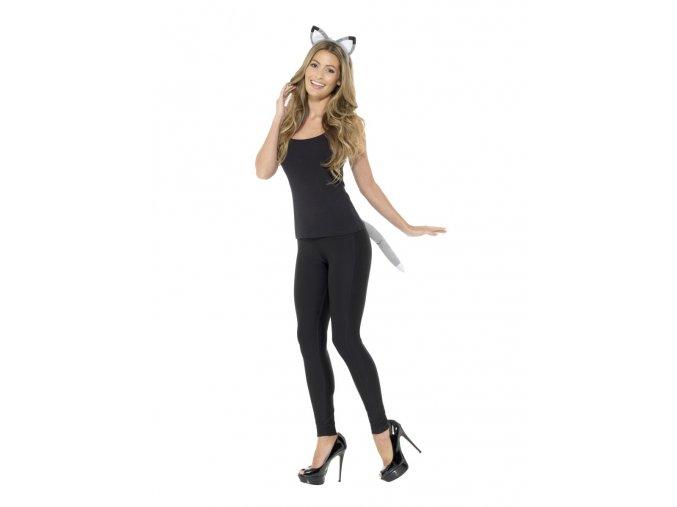kostým sada pro vlka karneval