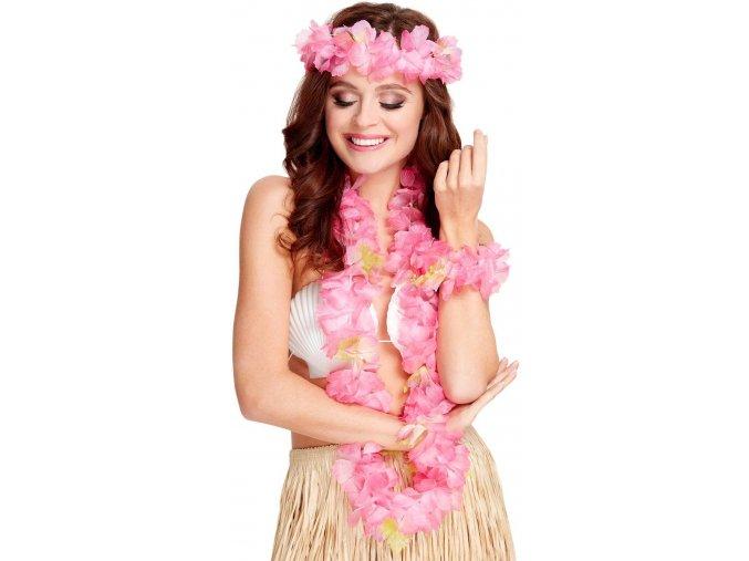 hula hula tanečnice kostým havajský věnec