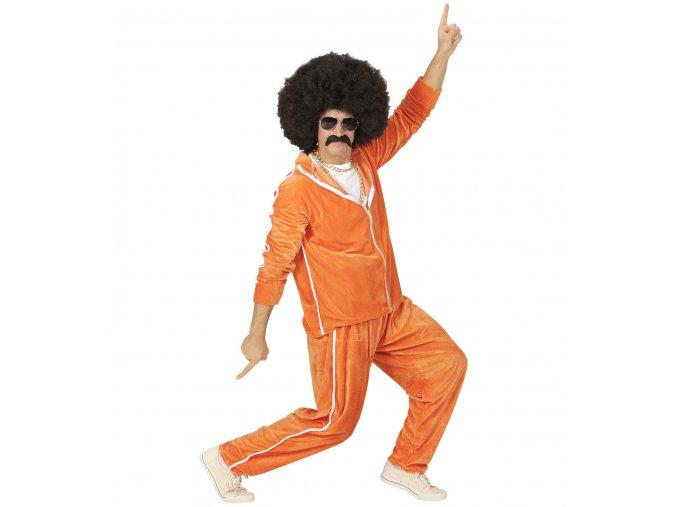 disco Oranžová souprava 80. léta