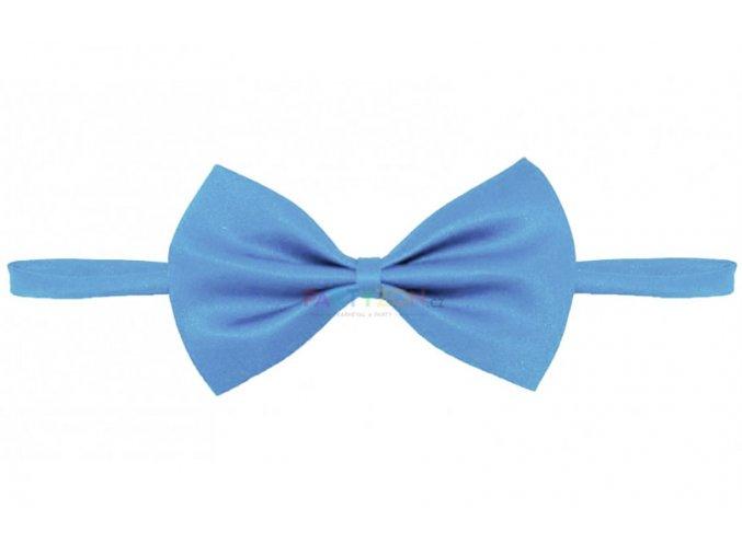pánský motýlek světle modrý