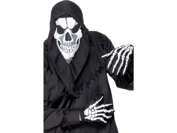 Sada Kostlivec maska a rukavice