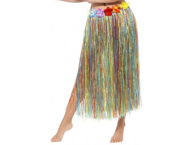 Hawaii sukně barevná 80 cm