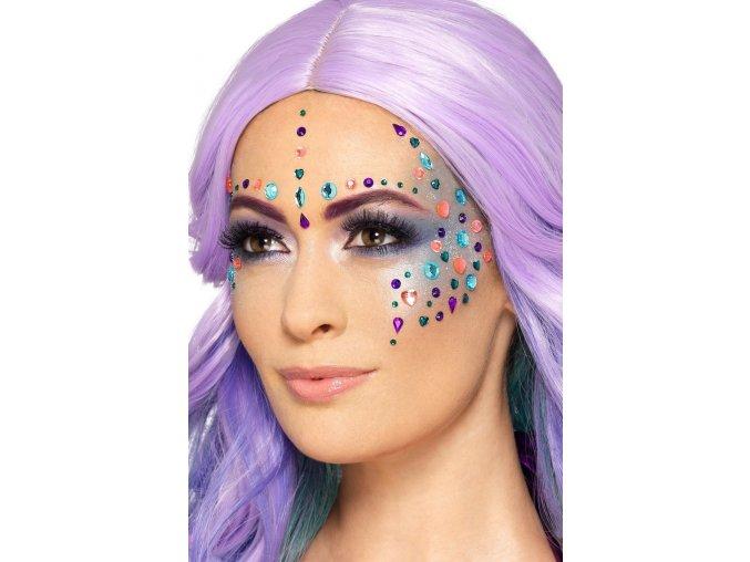 Nalepovací kamínky na obličej (100ks)