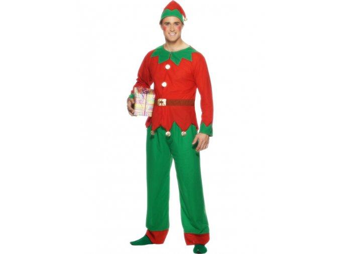 Kostým vánoční skřítek elf