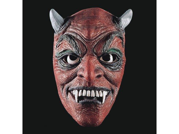 Gumová maska čerta
