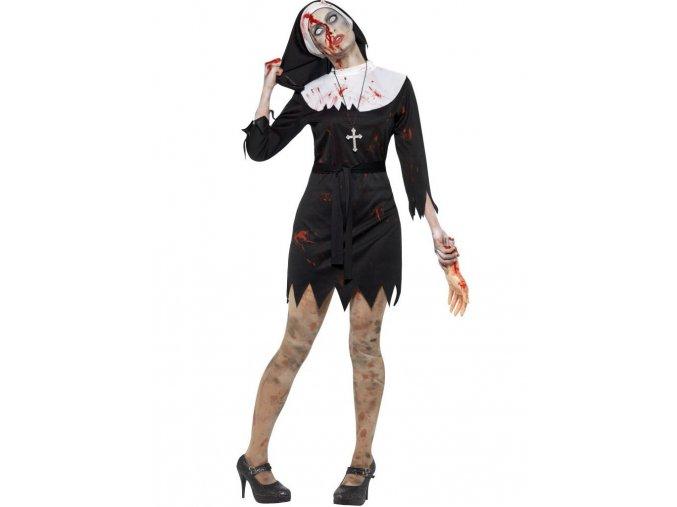 Zombie kostým jeptišky