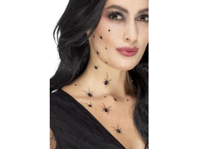 Dočasné tetování malí pavouci