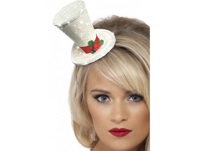 Mini vánoční klobouk