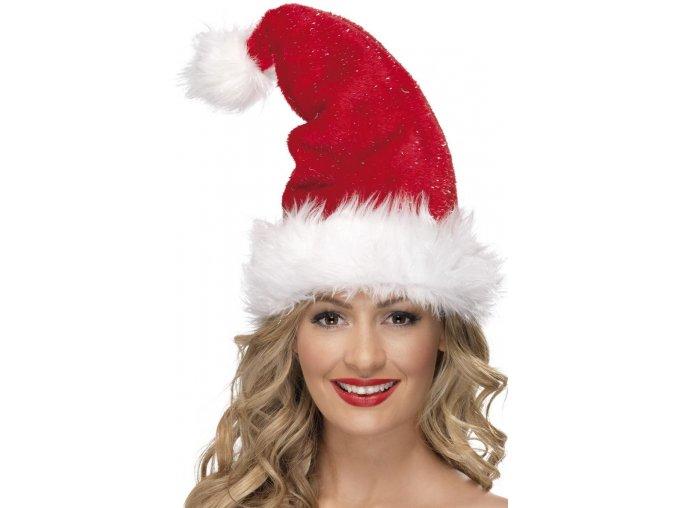 Vánoční čepice deluxe