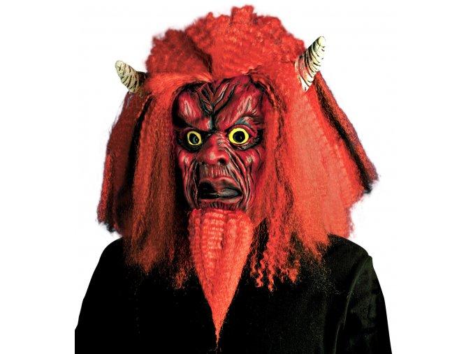 Strašidelná maska čerta