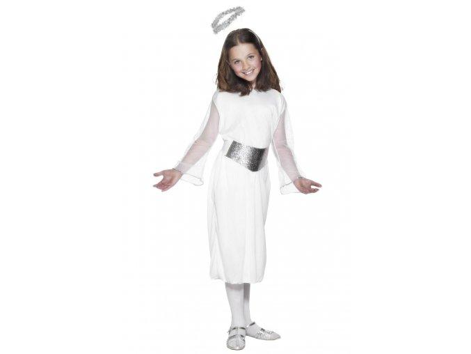 Dětský andělský kostým šaty levně