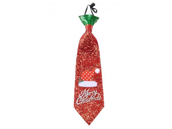 vanocni kravata santa