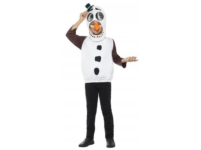 Kostým sněhulák pro děti