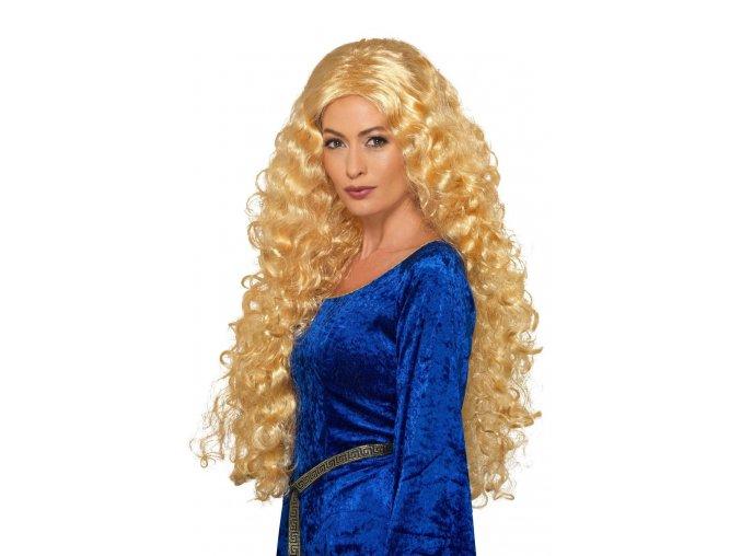 Dlouhá blond paruka Princezna