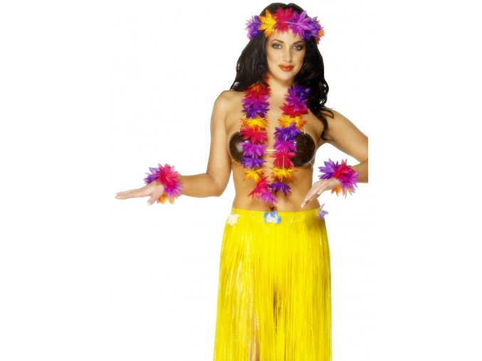 Havajská sada věnců Tropical