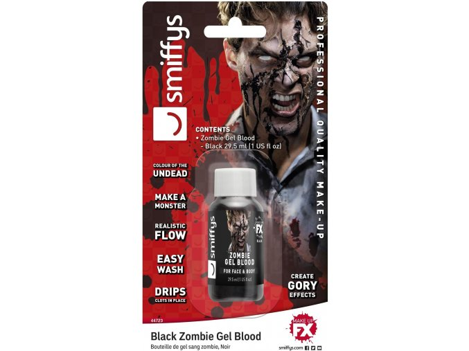 Černá krev 30 ml halloween