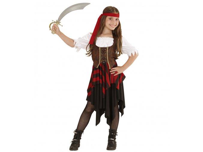 Dívčí kostým pirátky