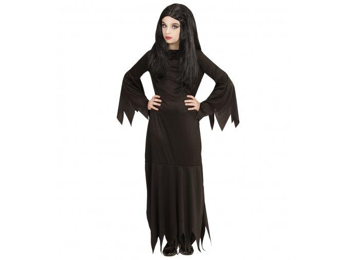 dívčí kostým Morticia