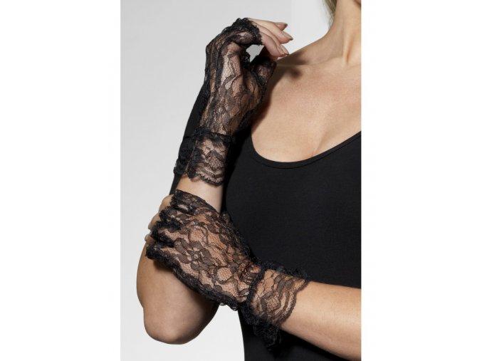 Krajkové rukavičky bez prstů