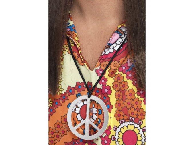 Hippie peace medailon
