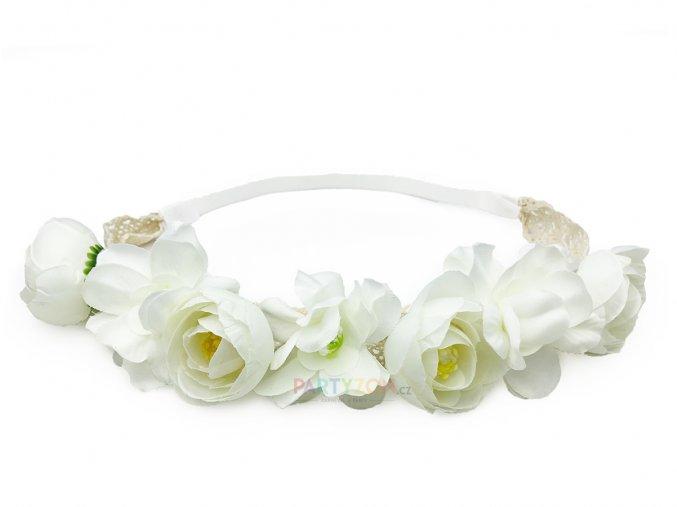 kvetinova celenka bila