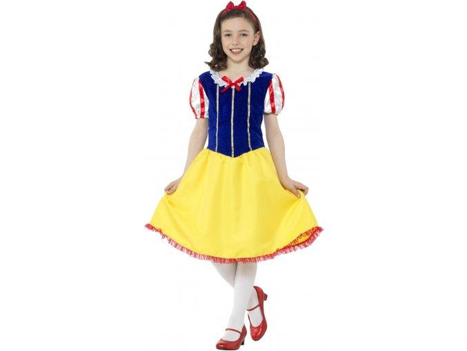 Dětský kostým Sněhurky