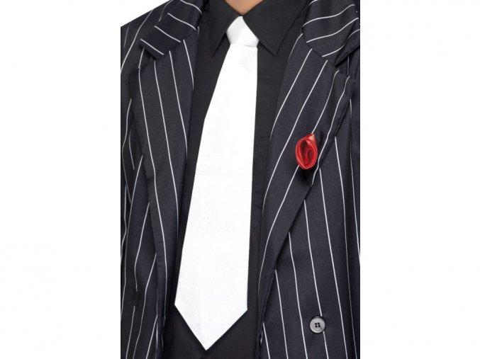 Bílá mafiánská kravata 30. léta