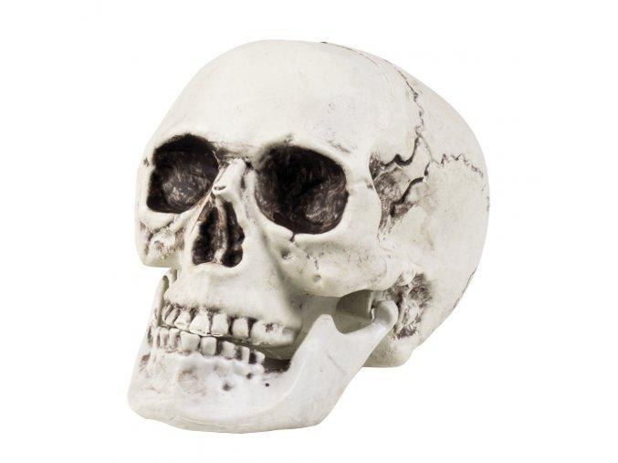 lebka dekorace na halloween