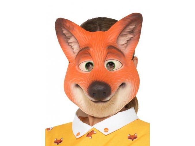 Dětská maska lišky