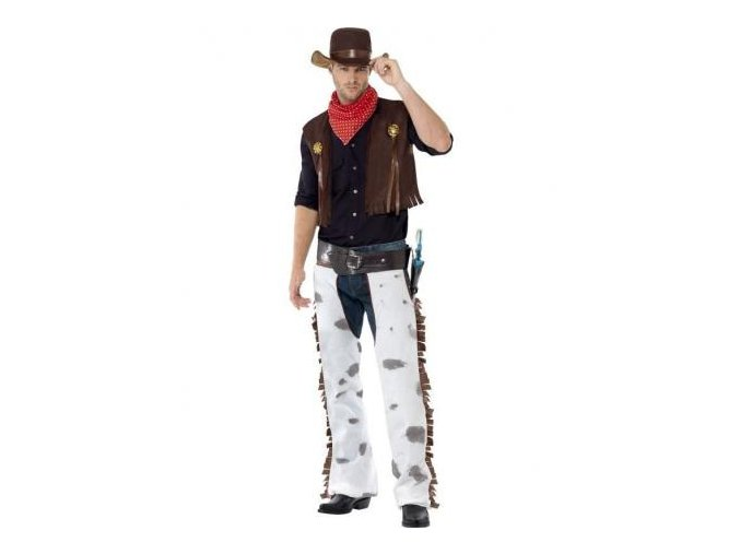 kostym kovboj western