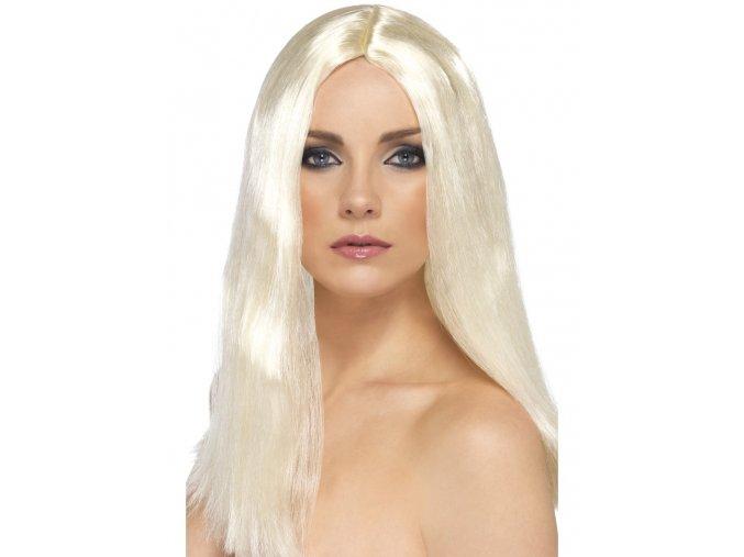 Dlouhá blond paruka