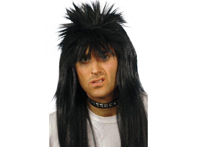 Pánská paruka Rocker černá