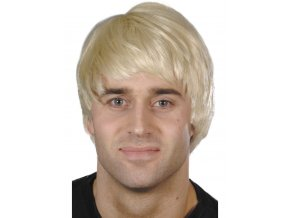 Pánská krátká blond paruka