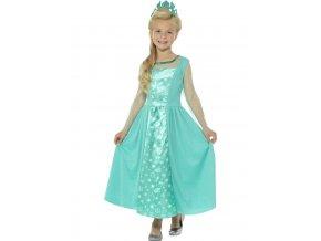 Šaty Elsa dětský kostým Frozen