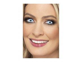 Barevné crazy kontaktní čočky modré