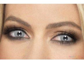 crazy Upíří kontaktní čočky šedé levně
