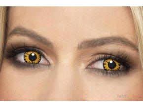 crazy Barevné kontaktní čočky Vlk