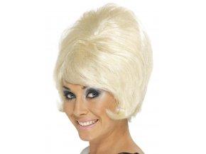 Retro paruka blond 60. léta