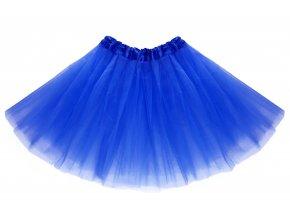 tutu tylová sukně modrá na karneval a párty