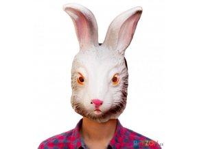 karnevalová maska králíka