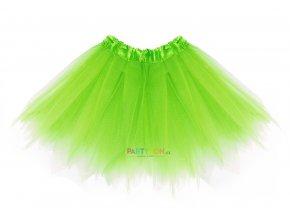 baletní sukýnka pro děti zelená
