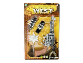 kovbojské pistole western na karneval