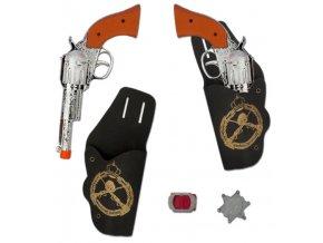 kovbojské pistole kostým kovboje