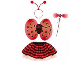 dětský karnevalový kostým berušky