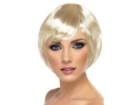 Dámská blond paruka krátká
